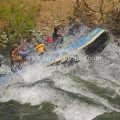 Rafting Snow blind whitewater rapid Wenatchee river Cashmere Washington