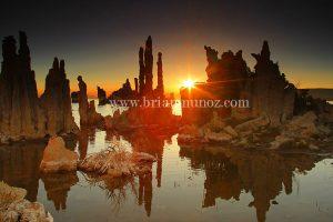 South Shore sunrise Mono Lake Eastern Sierra California