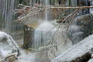 Waterfall Whitney Portel Mount Whitney Eastern Sierra Nevada California